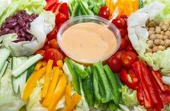 Colourful Salad Stock Image