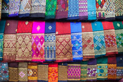 Colourful sarong Stock Photography