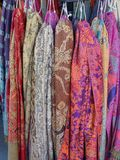 Colourful Scarves Stock Image