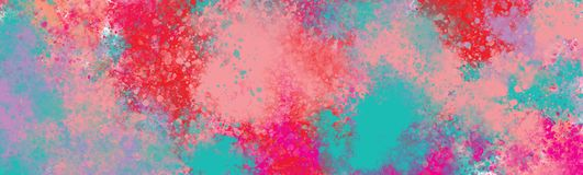 Colourful schizzi la tela del onlarge di colore royalty illustrazione gratis