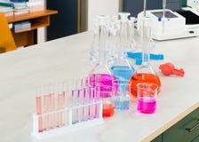 Colourful Scientific Experiment Stock Photos