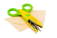 Colourful scissors Stock Images