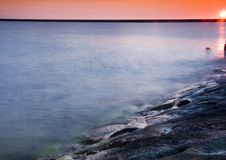 Colourful sea Royalty Free Stock Images