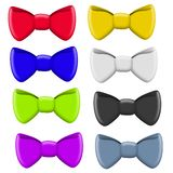 Colourful Selection of Bow Ties Stock Photography
