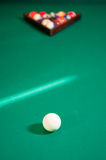 Colourful set of billiard balls Royalty Free Stock Photos