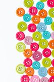 Colourful sewing buttons Stock Image