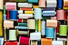 Free Colourful Sewing Threads Background Closeup Royalty Free Stock Photo - 108686975