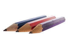 Colourful Sharp Pencils Royalty Free Stock Image