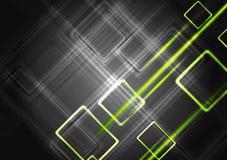 Colourful shiny vector tech design Stock Image