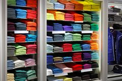 Colourful shirts Royalty Free Stock Photo