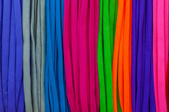 A Colourful shoelace colors,for texture background. Colourful shoelace colors,for texture background royalty free stock photo