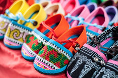 Colourful shoes Stock Photo