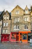 Colourful Shopfronts Stock Images