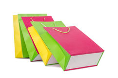 Colourful shopping bags Royalty Free Stock Image