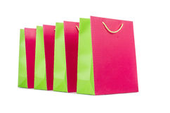 Colourful shopping bags Royalty Free Stock Photos