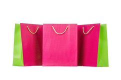 Colourful shopping bags Royalty Free Stock Photography