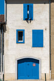 Colourful Shutters in Castres, France Royalty Free Stock Image