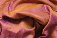 Colourful silk Stock Image