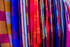 Colourful silk Royalty Free Stock Photography