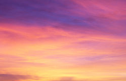 Colourful Sky Background Royalty Free Stock Photo