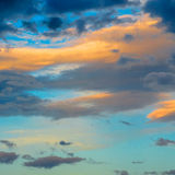 Colourful sky Stock Images