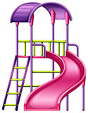 A colourful slide stock illustration
