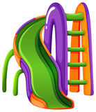 A colourful slide at the park Stock Image