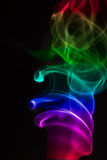 Colourful smoke Royalty Free Stock Photo