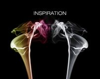 Colourful smoke Royalty Free Stock Photography