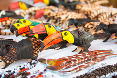 Colourful souvenirs Royalty Free Stock Image