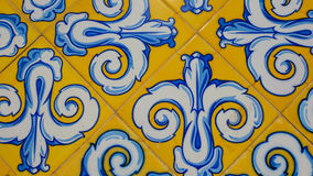 Colourful Spanish tiles Stock Images