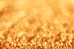 Colourful spark and blow WONDERFUL golden bokeh Stock Image