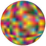 Colourful Sphere Stock Photography
