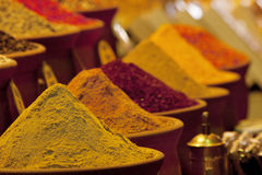 Colourful spices Stock Photo