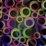 Colourful spirals. Stock Photos