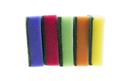 Colourful sponges Royalty Free Stock Photo
