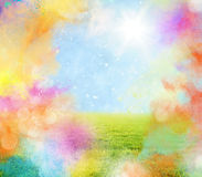 Colourful spring Stock Photo
