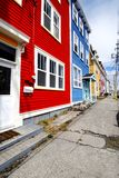 Colourful St John's Street Royalty Free Stock Photography