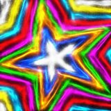 Colourful Star Shape Stock Photography