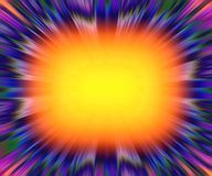 Colourful starburst explosion background Stock Photo