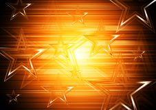 Colourful stars background Royalty Free Stock Image