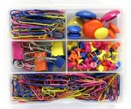 Colourful Stationary Box Stock Image