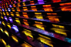 The colourful steps Stock Photo
