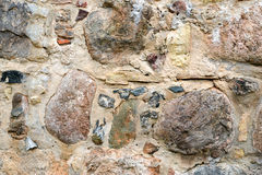 Colourful stone wall texture Stock Photo