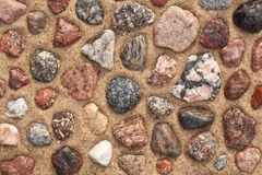 Colourful stones Stock Images