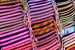 Colourful straps Royalty Free Stock Photo