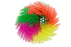 Colourful Straws Royalty Free Stock Photography