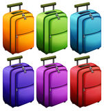 Colourful suitcases Royalty Free Stock Photography