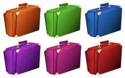 Colourful suitcases Stock Photo