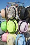 Colourful sunhats Fotografia Royalty Free